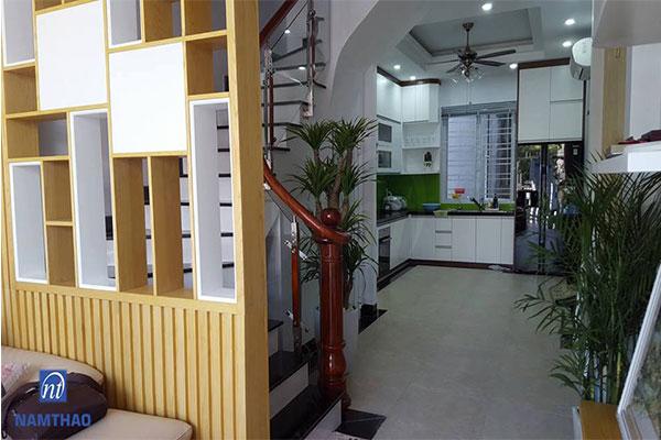 Trụ cầu thang gỗ giá rẻ ở Hà Nội