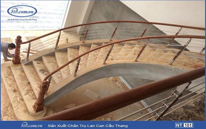 Mẫu cầu thang đẹp Nam Thao NT 103